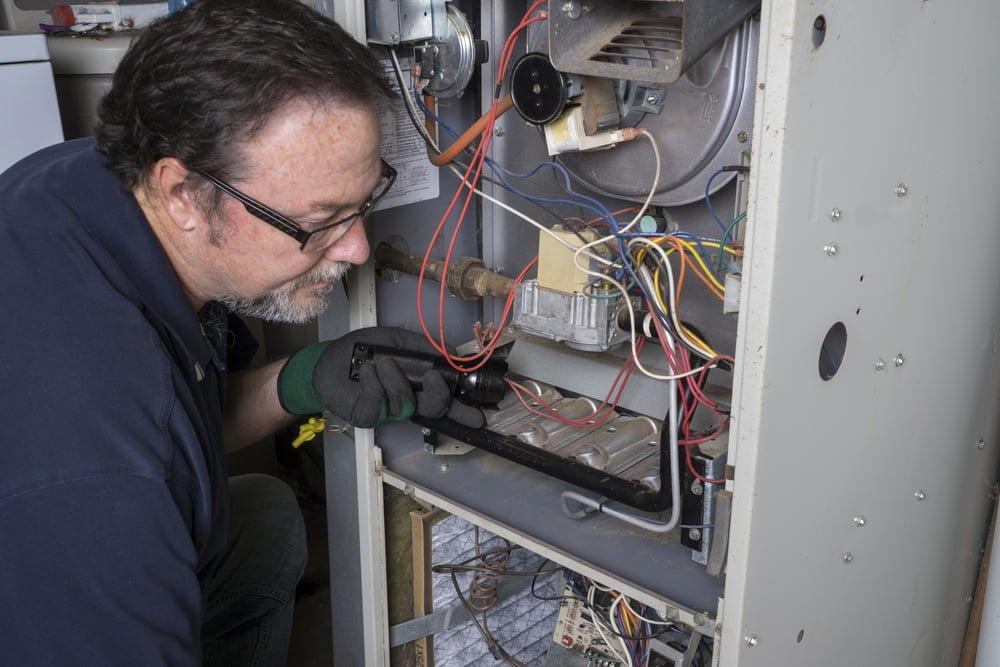 addressing burning smells furnace