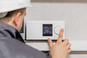 HVAC thermostat setting recommendations