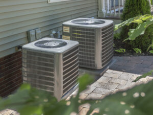 properly covering outdoor AC unit