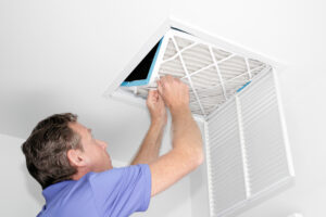 HVAC areas home hot